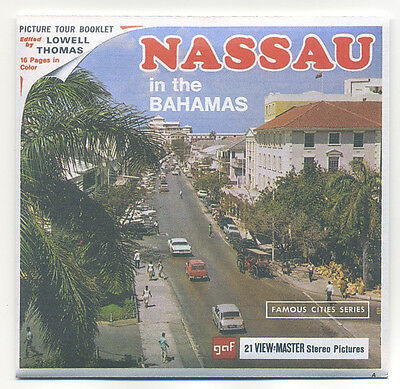 NASSAU New Providence Island Bahamas View-Master B-026 3 Reels Only + Copy Cover