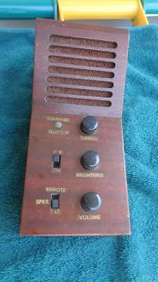 Home Made Remote TV ? Vol, Brightness , Tuning / Channel Selector  Wooden Case