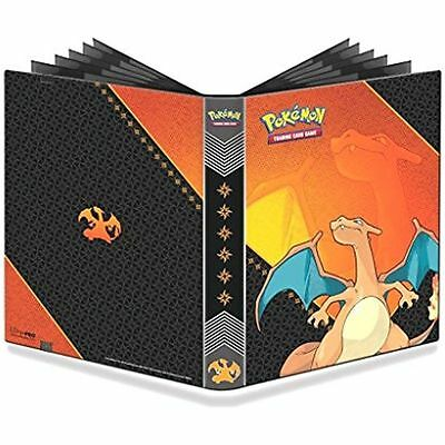 Charizard 9 Pocket Pokemon Ultra Pro Binder album 20 pages holds 360 cards new