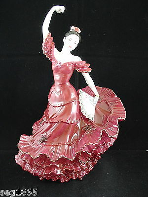 Coalport Ltd. Edition Figurine - A Passion For Dance - Flamenco