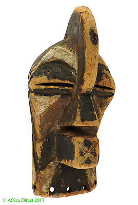 Songye Mask Kifwebe Passport Male Congo African Art