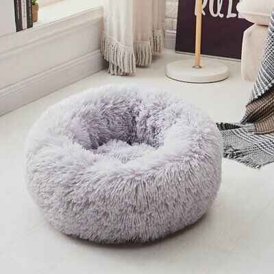 New Small Cat Kitten Fluffy Cave Bed House Igloo Sleeping Pet Puppy Dog Washable