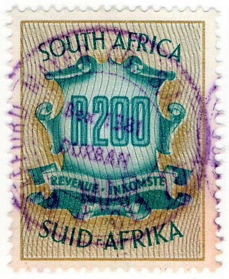 (I.B) South Africa Revenue : Duty Stamp R200
