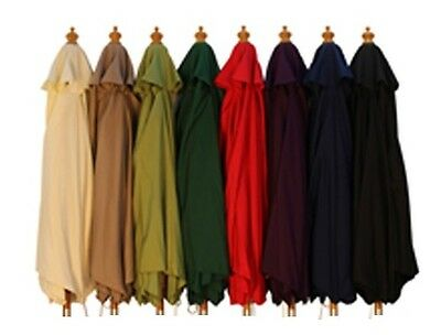 2M 2.5M 3M 3x2M REPLACEMENT PARASOL COVERS CANOPY - WAREHOUSE CLEARANCE SAVE ££s