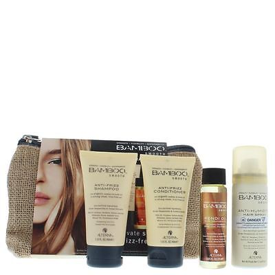 Alterna Bamboo Smooth On The Go Travel Set Anti Frizz Shampoo 40ml & Conditioner