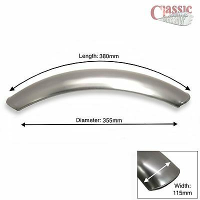 Short Front Mudguard PLain metal, Ideal for Scrambler / Cafe Racers