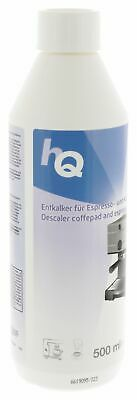 HQ DELONGHI Coffee Machine Espresso Descaler Decalcifier Cleaning Fluid 500ml