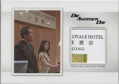 "James Bond Archives Final - MR10 ""Rubyeon Hotel Key Card"" Relic Card #42/91"