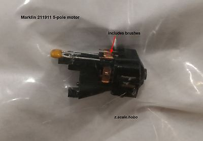 Marklin Z Scale 211911 5 Pole Motor Upgrade Spare Parts Repair *NEW $0 SHIP