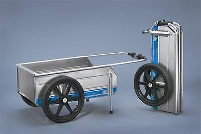 Tipke 2100 Marine Fold-It Utility Cart w/ Front Gate!! - Blue Trim *NEW!!*