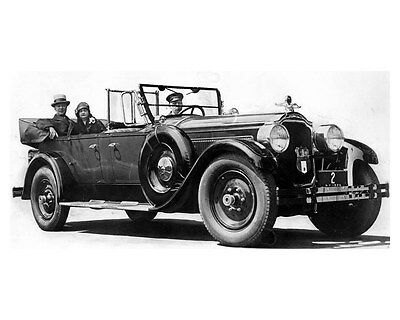 1925 Packard 243 & NY Governor Alfred E. Smith Factory Photo ub3137