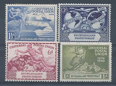 Bechuanaland Protectorate 1949 75th Anniv of UPU set of 4