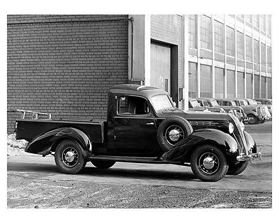 1936 Hudson Terraplane Cab Pickup Truck Factory Photo ub3116