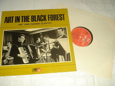 Art In The Black Forest Art Van Damme Quintet Ex/nm- Crm666 Stereo