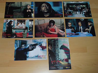 GHOST DOG - 8 lobby cards ´00 - FOREST WHITAKER Jim Jarmusch