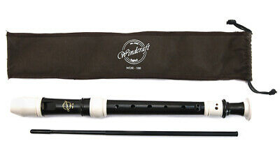 Windcraft Descant Recorder - 3 Piece with arched windway AWDR100