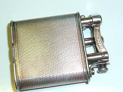 Dunhill Liftarm Pocket Lighter - Silver Plated - Pat. 143752 - Fab. Suisse -Rare