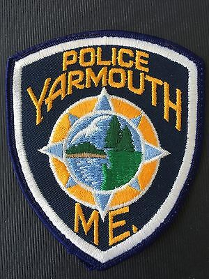 Yarmouth  Maine  Police  Shoulder Patch