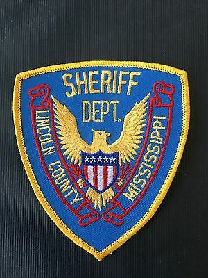 Lincoln County Mississippi  Police  Shoulder Patch