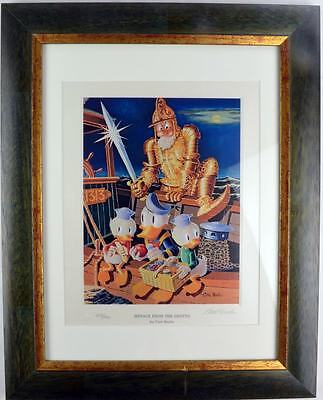 Carl Barks Lithographie Menace from the grotto signiert, limitiert und gerahmt