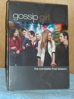 Gossip Girl - The Complete First Season (DVD, 2008, 5-Disc Set) TV Series