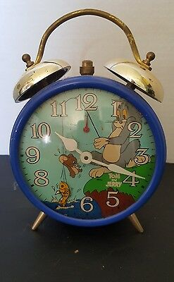 Vintage Tom & Jerry Alarm Clock. Omnl 401