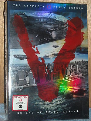 V: The Complete First Season (DVD, 2010, 3-Disc Set)