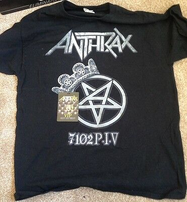 Anthrax - Vip T-Shirt And Pass