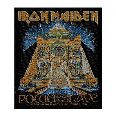 """Iron Maiden: Powerslave"" Pyramid Theme Heavy Metal Album Sew On Applique Patch"