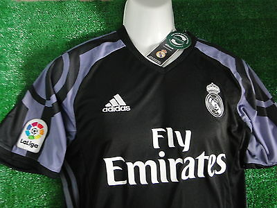Real Madrid Away Shirt 2016-17 **  ** Size Large  Bnwt