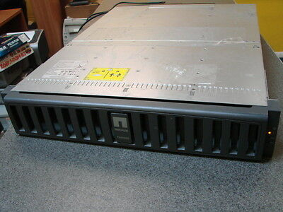 NetApp FAS2020 NAF-0602 Storage Array Chassis w/ 2x Controller Module - No HDD