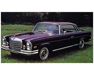 1970 1971 1972 Mercedes Benz 280SE 3.5 Coupe Factory Photo ca6891