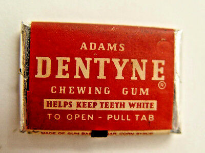 Nifty Old Coin Operated Vending  Machine Original Adams Dentyne Tab Chewing Gum