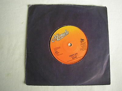 "BLAIR Night Life UK 7"" single 1979 ex minus"
