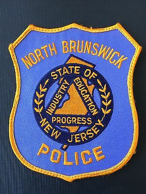 North  Brunswick  New Jersey  Police  Shoulder  Patch