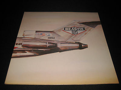 Beastie Boys Licensed To ILL PROMO Vinyl LP Record Def Jam CBS RARE