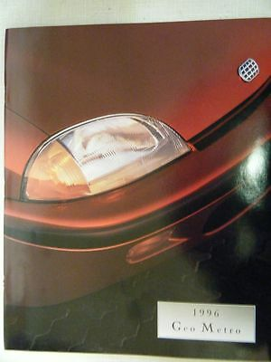 1996 Geo Metro Sales Brochure New & Mint condition  F S