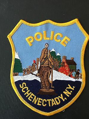 Schenectady New York  Police  Shoulder  Patch