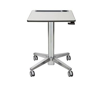 Ergotron Learnfit Adjustable Standing Student Desk Silver 24-481-003