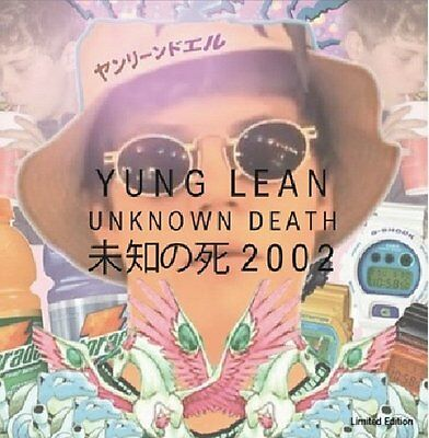 "Yung Lean "" Unknown Death 2002 "" Mint Uk Lp  *** Coloured Vinyl ***"