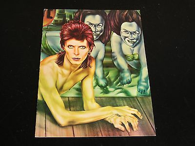 David Bowie-Year Of The Diamond Dogs-ORIG. 1974 Tour Program/Book-NEAR MINT!