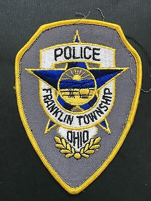 Franklin Township Ohio Police Shoulder Patch
