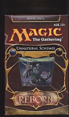 MTG 1 x Alara Reborn UNNATURAL SCHEMES Intro Pack (Theme Deck) Sealed PLUS Bonus