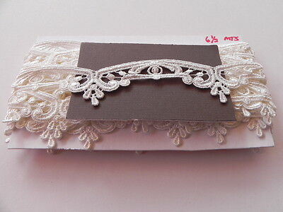 Card of  New Off white Guipure Lace