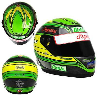 2013 James Courtney Signed Certificate Mini Helmet Scale 1:2  Limited Edition