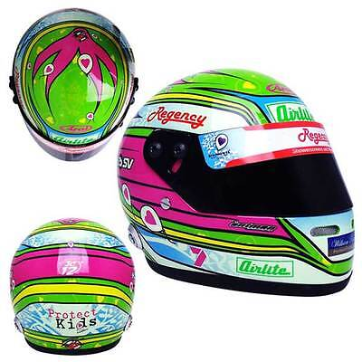 2013 James Courtney Special Edition Mini Helmet Scale Model  Scale 1:2