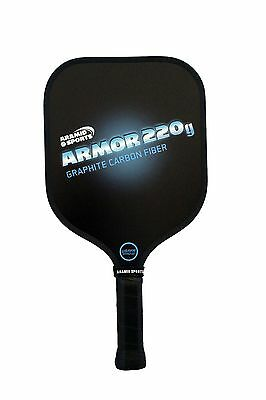 ARMOR 220g USAPA Approved PickleBall Paddle Graphite Carbon Fiber Nomex Core