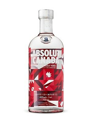Absolut Canada 150 Anniversary Limited Edition  750 Ml Bottle – Empty Only!