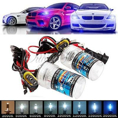 2x 35W/55W HID Conversion XENON Light Bulb  H11 H10 H9 H8 H7 H3 H1 880 9005 9006