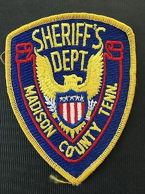 Madison  County Tennessee  Sheriff  Shoulder Patch